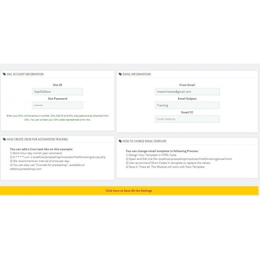 module - Śledzenie dostawy - DHL Express Delivery Status - 3