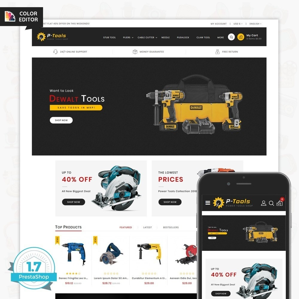 theme - Automotive & Cars - P - Tools - Special Power Tools - 1