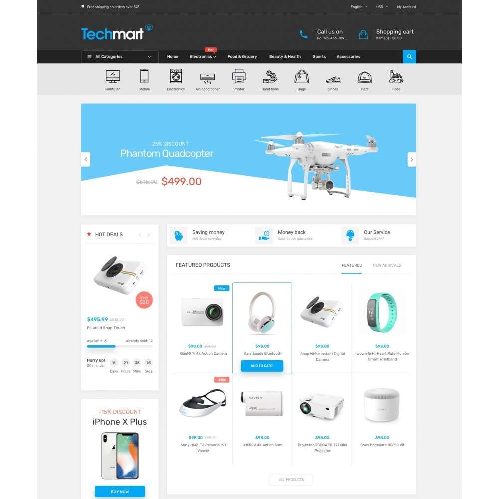 Techmart - Electronic Store