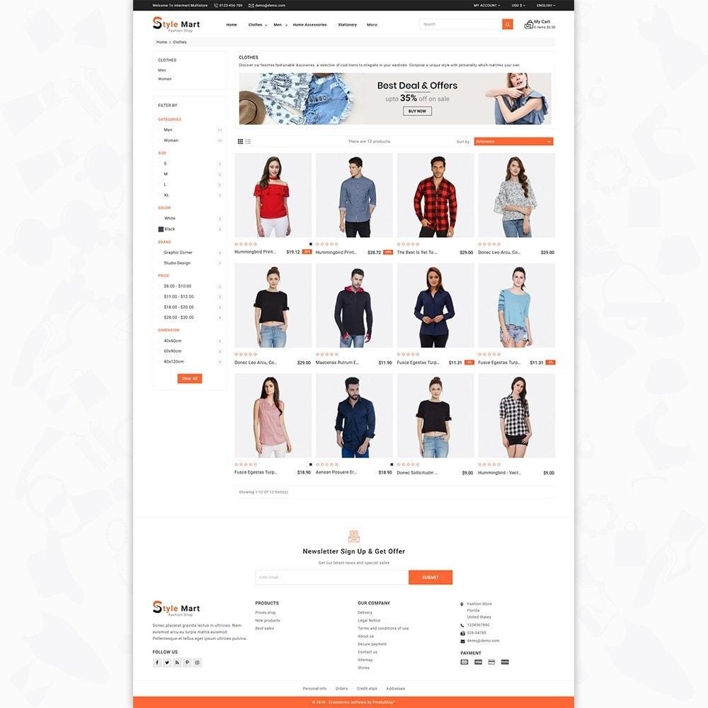 theme - Fashion & Shoes - Fashion Mart - The Fashion Shop - 3