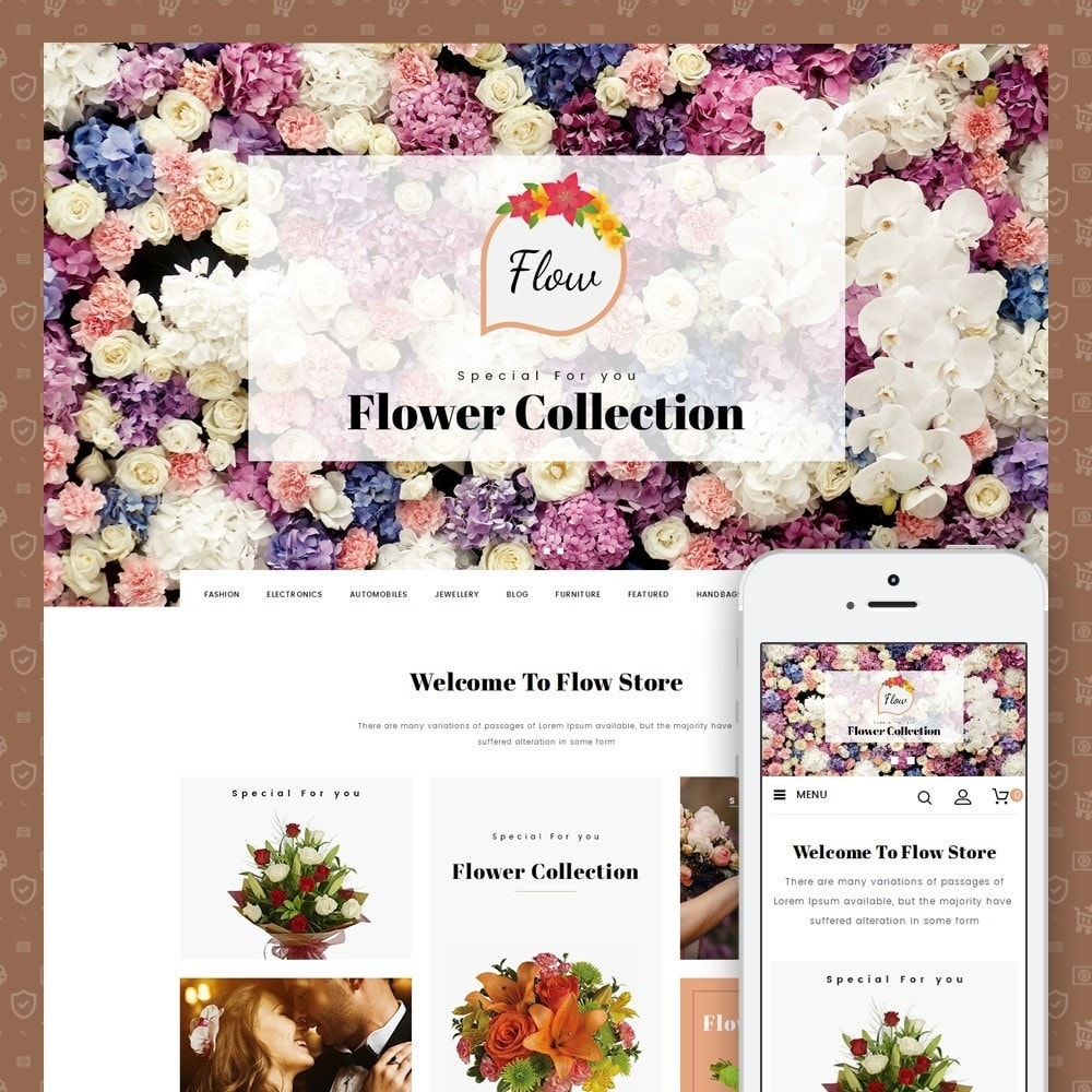 Flow - Flowers Store