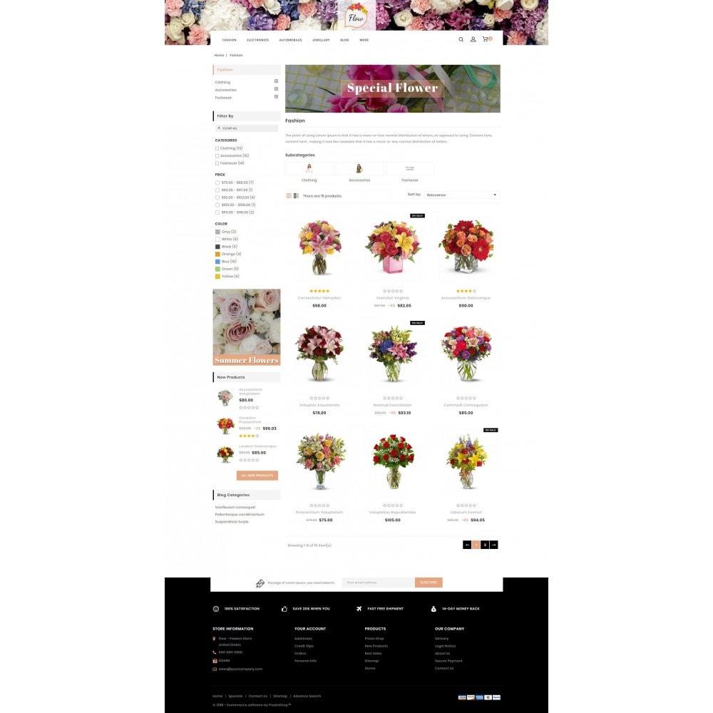 theme - Presentes, Flores & Comemorações - Flow - Flowers Store - 3