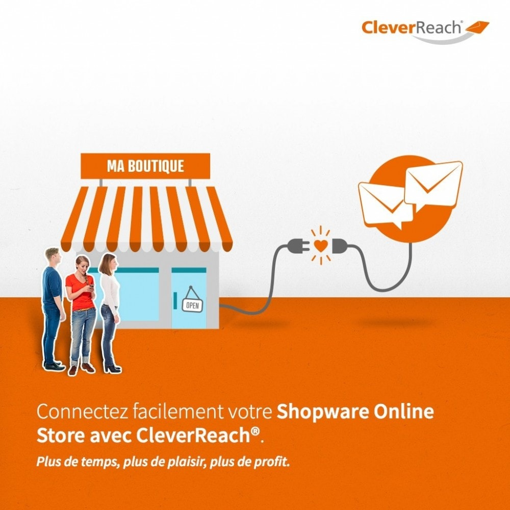 module - Newsletter & SMS - CleverReach® - E-Mail Newsletter - 2
