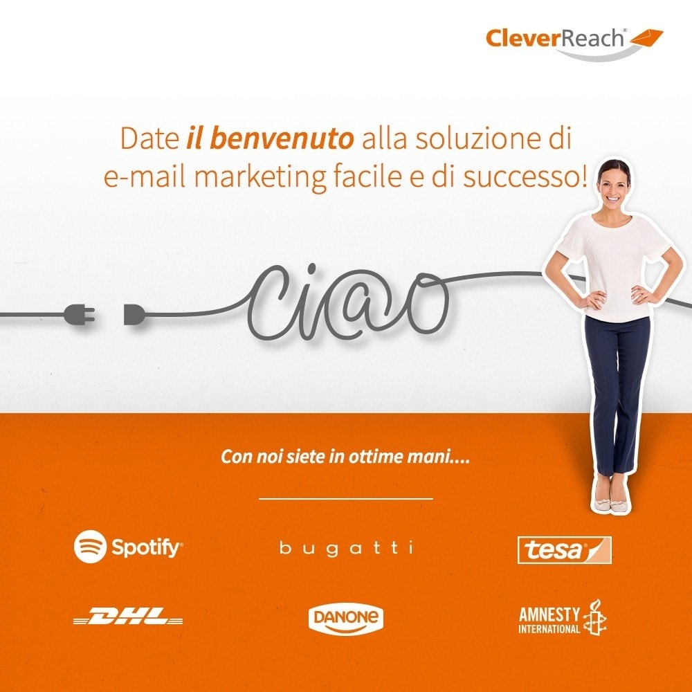 module - Newsletter & SMS - CleverReach® - inviare newsletter - 1