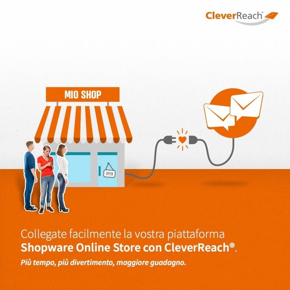 module - Newsletter & SMS - CleverReach® - inviare newsletter - 2