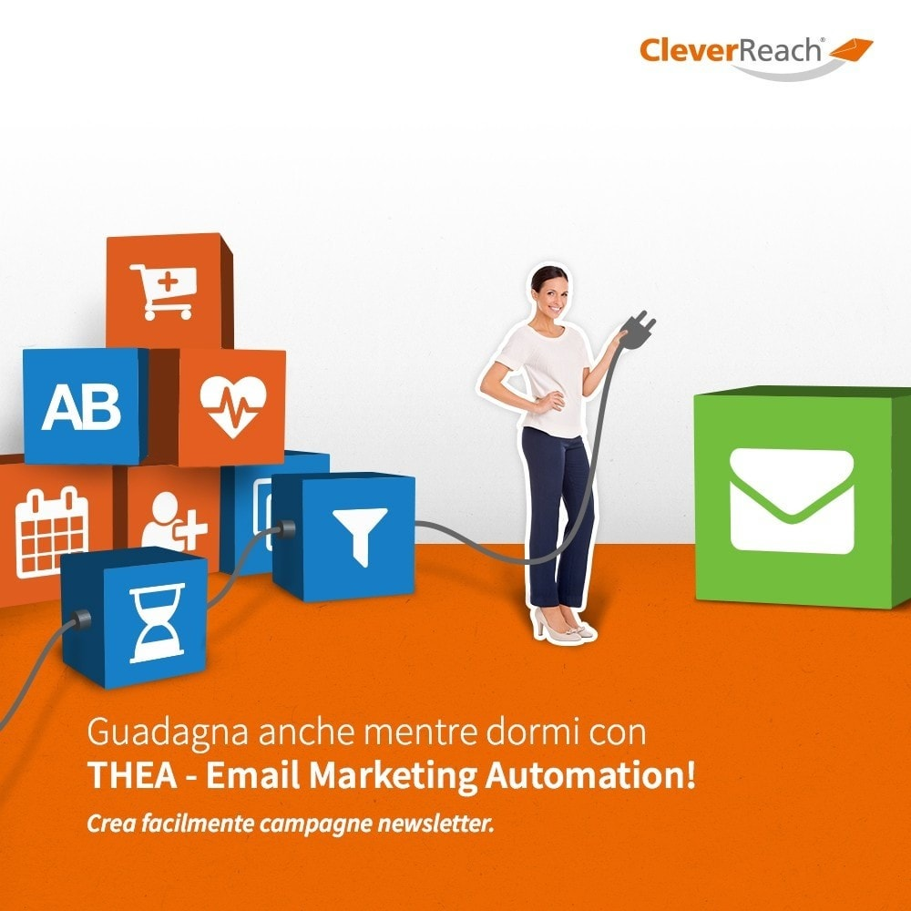 module - Newsletter & SMS - CleverReach® - inviare newsletter - 6