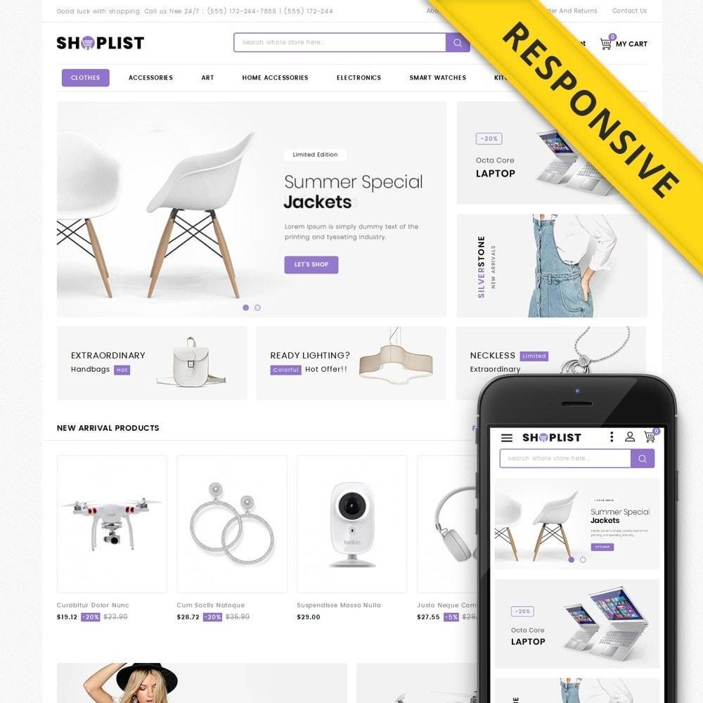theme - Elektronik & High Tech - Shoplist - Mega Store - 1