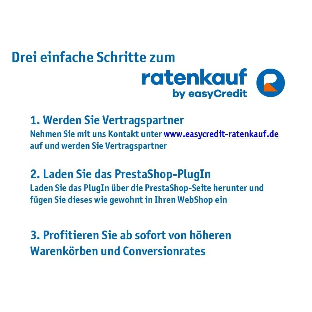 module - Andere Zahlungsmethoden - ratenkauf by easyCredit - 7