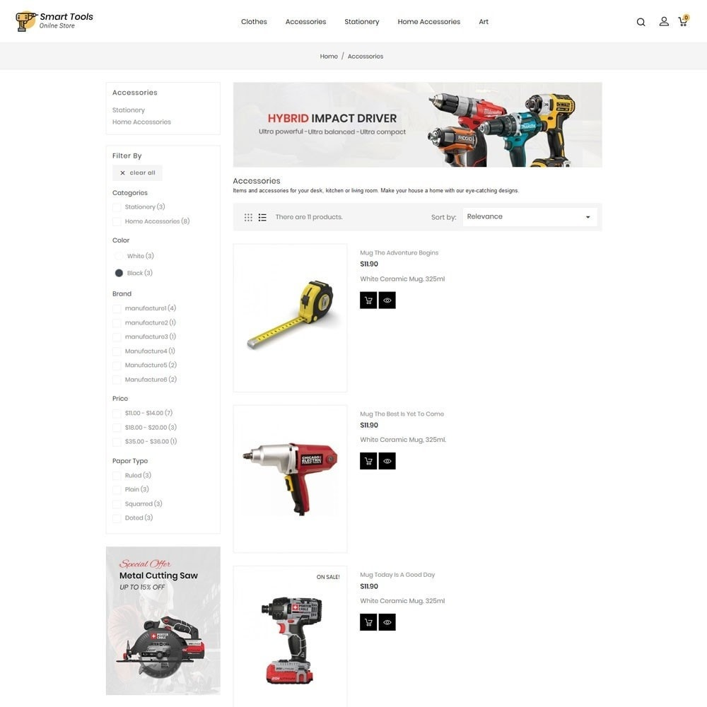 theme - Eletrônicos & High Tech - Smart Tools Store - 4