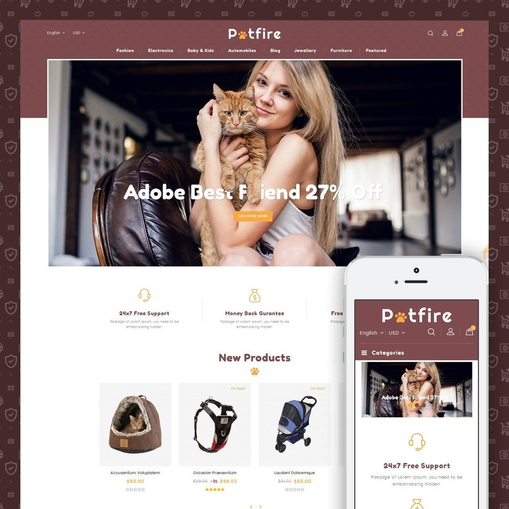 Petfire - Animals Store