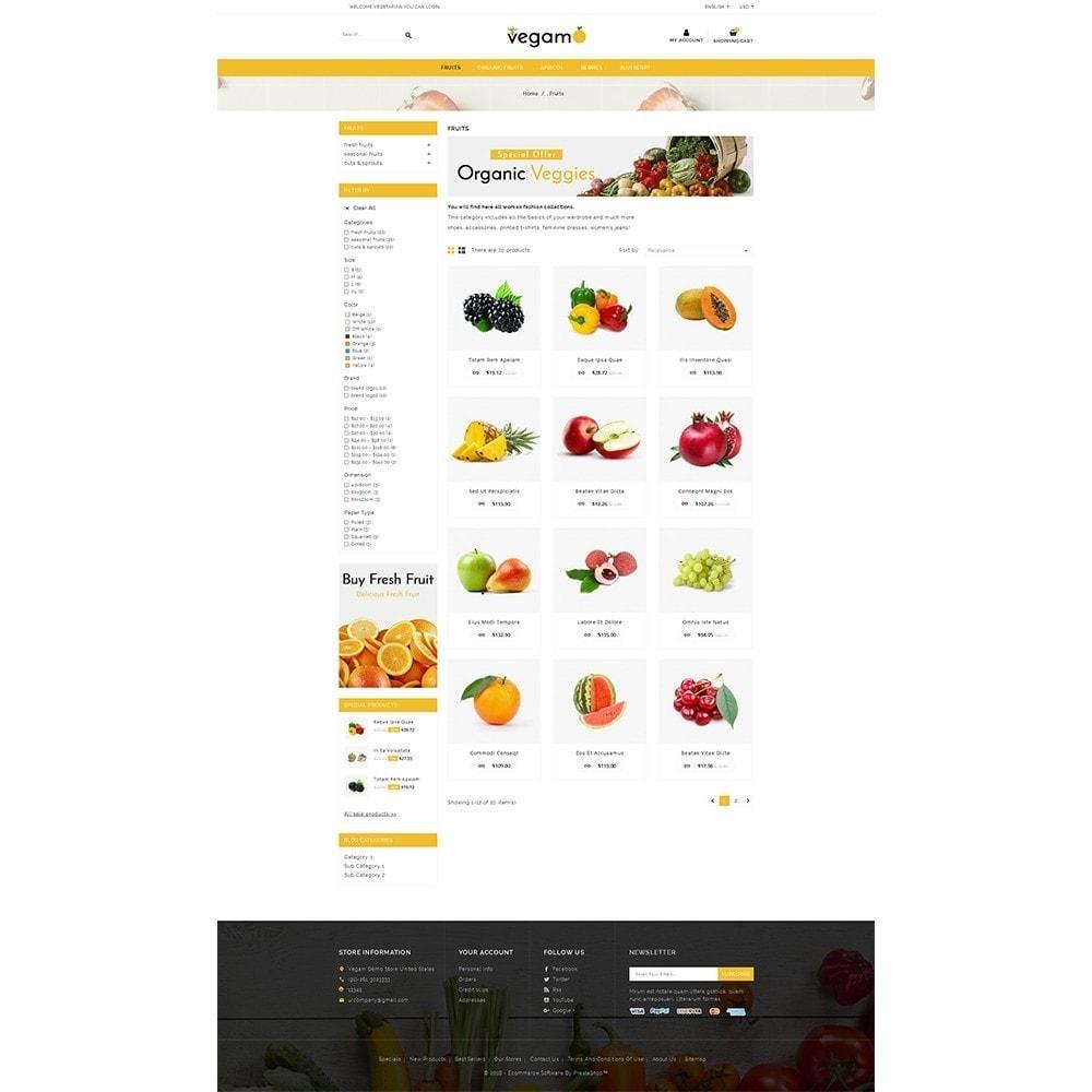 theme - Alimentation & Restauration - Vegam Store - 3