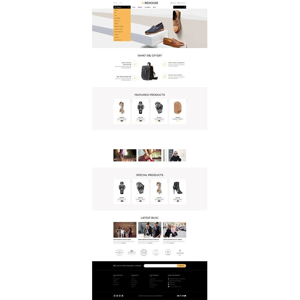 theme - Mode & Chaussures - Warehouse Store - 2