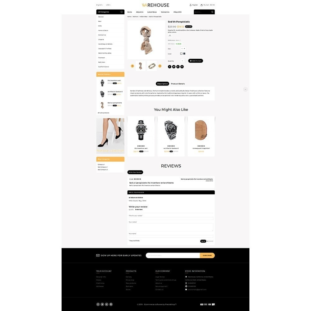 theme - Mode & Chaussures - Warehouse Store - 5