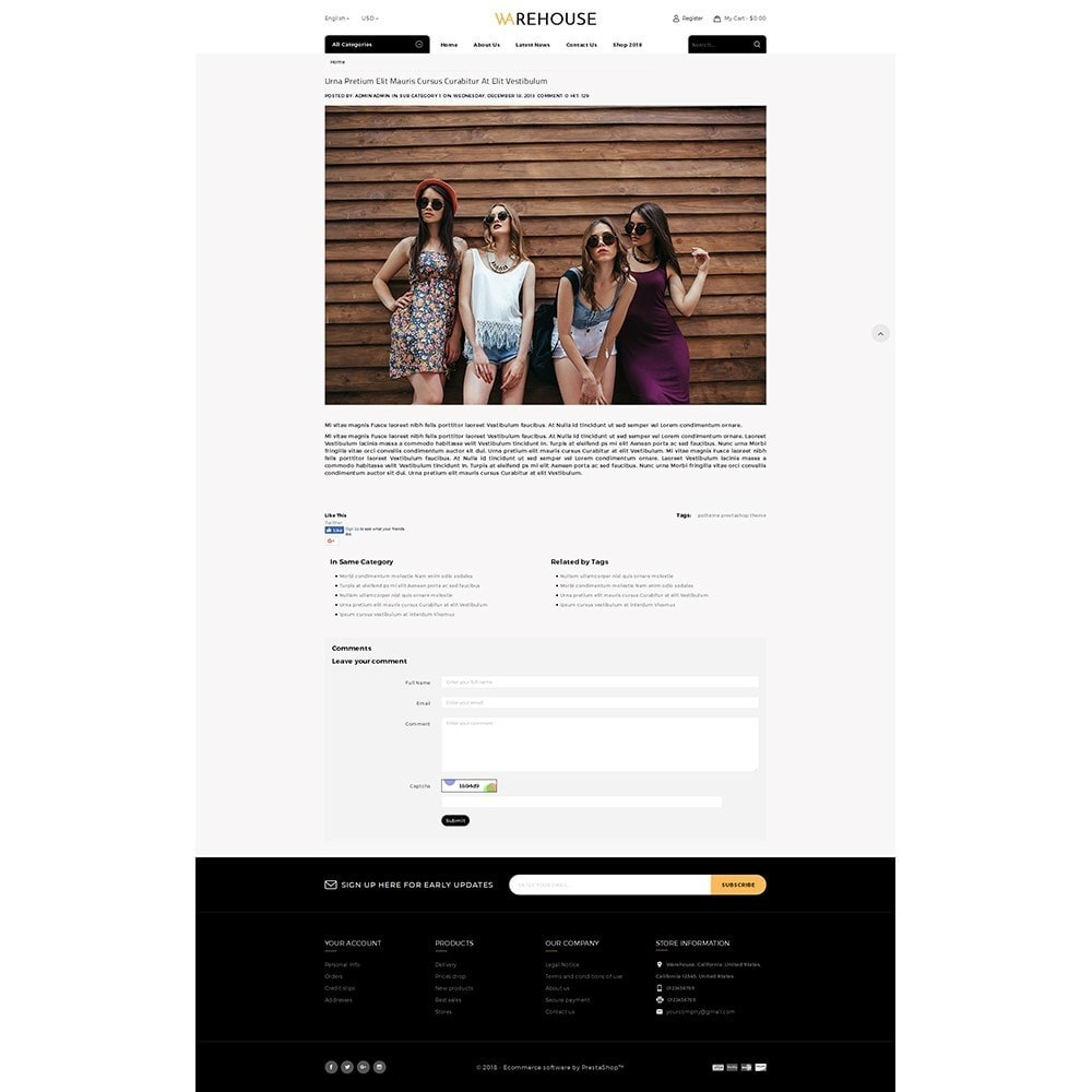theme - Moda & Calçados - Warehouse Store - 8