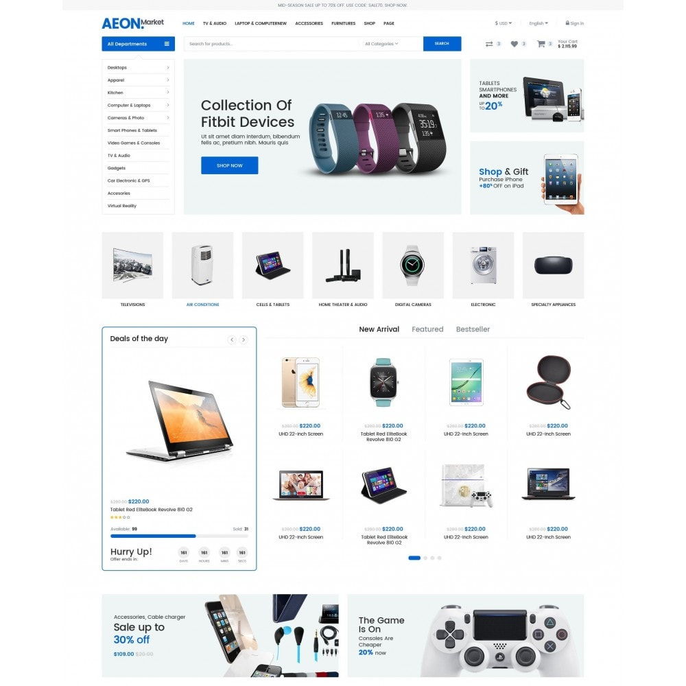 AeonMarket Electronic Store