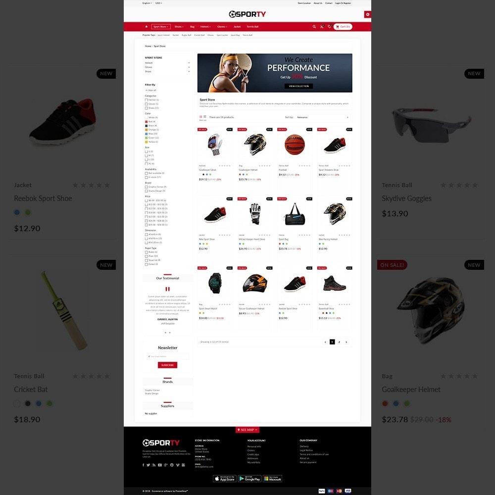 Sporty –Multi Sport Store