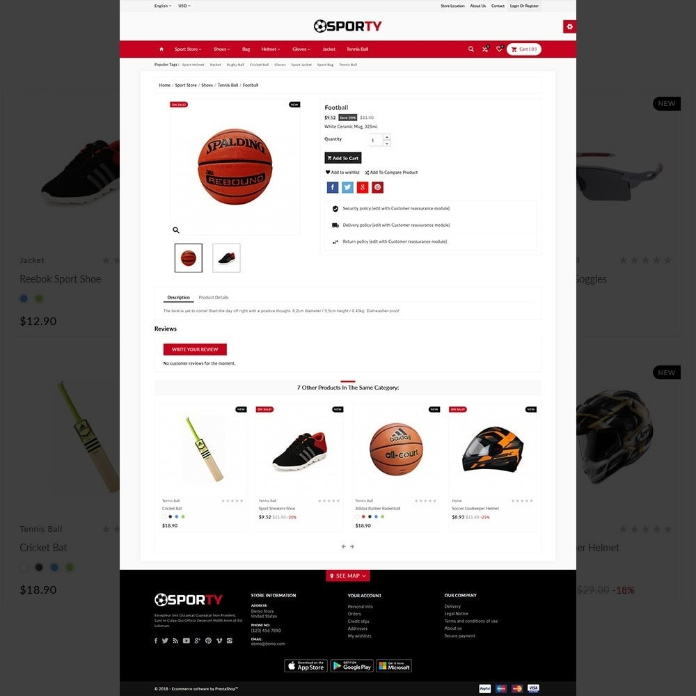 theme - Sports, Activities & Travel - Sporty –Multi Sport Store - 5