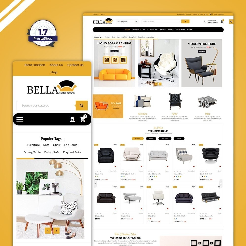 Bella–Wood Furniture Mega Shop