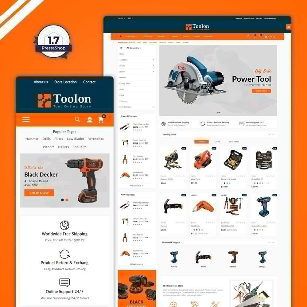 Toolon –Tools Mega Shop