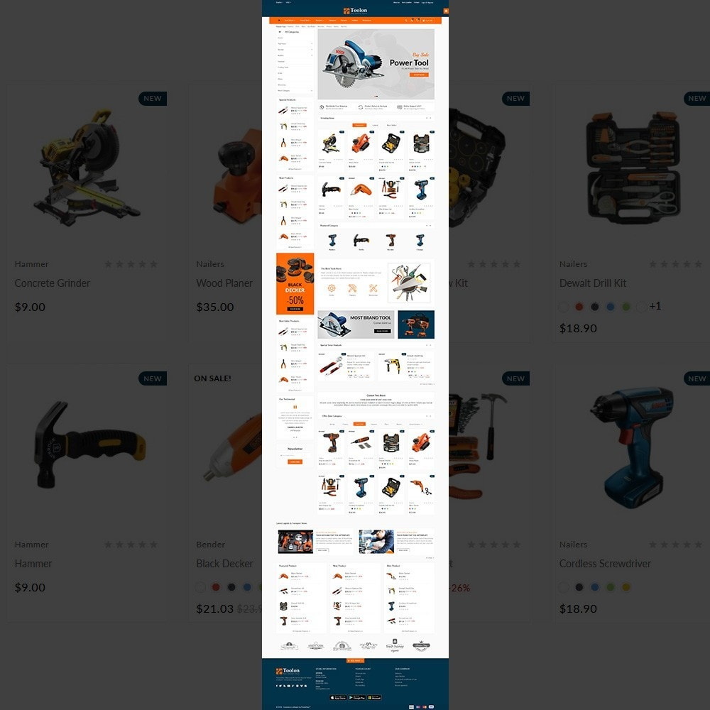 Toolon -Tools Mega Shop