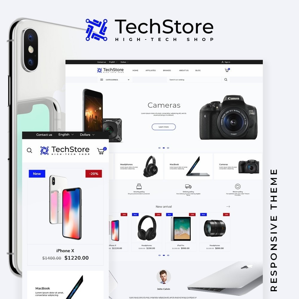 TechStore - High-tech Shop