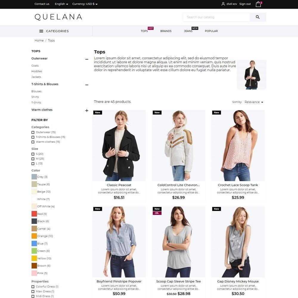theme - Fashion & Shoes - Quelana Fashion Store - 5