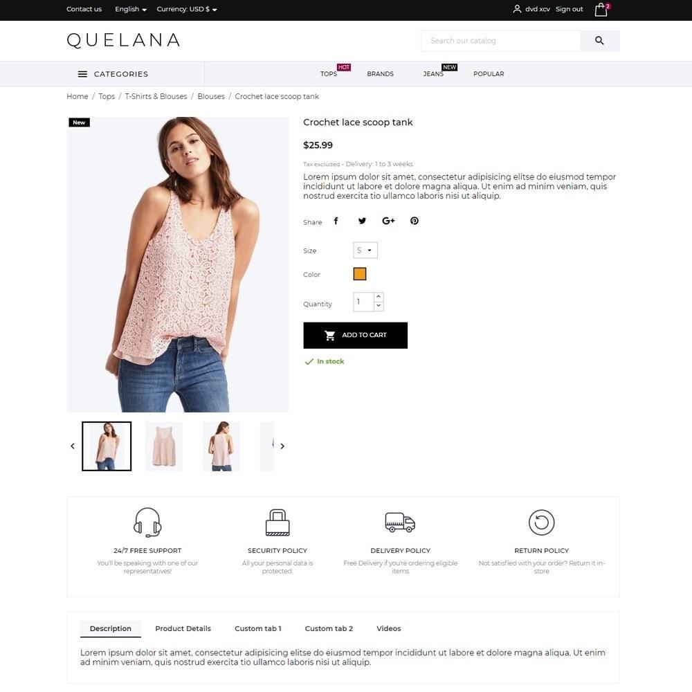 theme - Fashion & Shoes - Quelana Fashion Store - 6