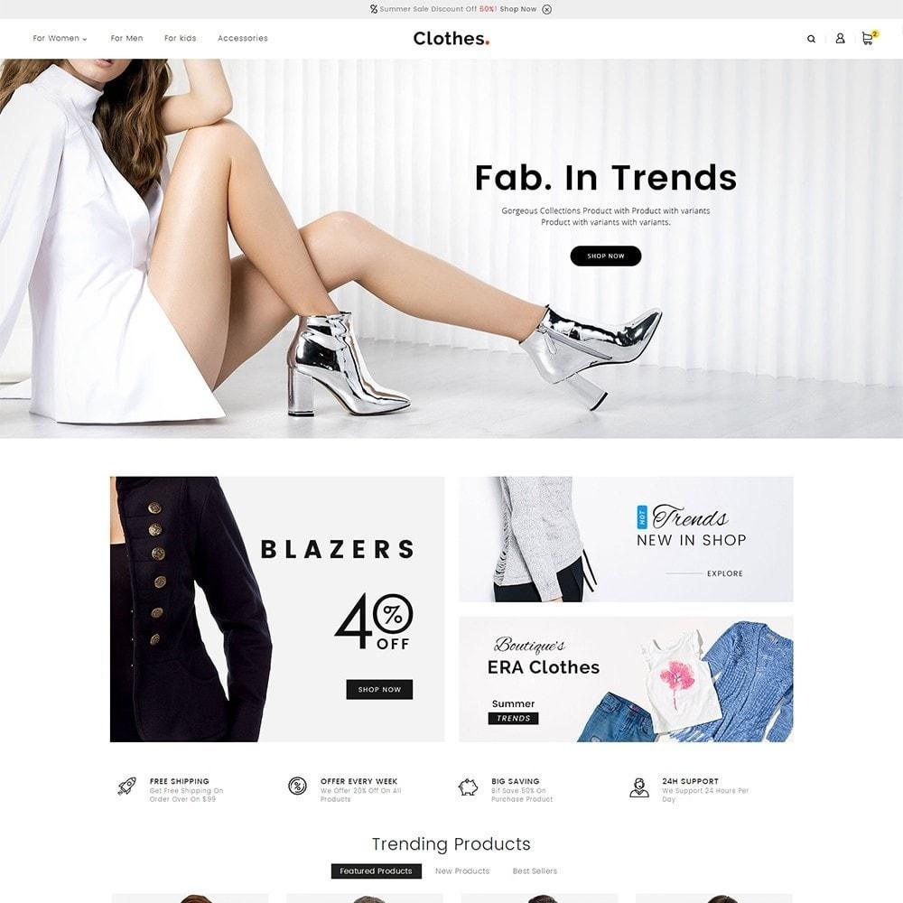 theme - Moda & Calçados - Fashion Clothes - 2
