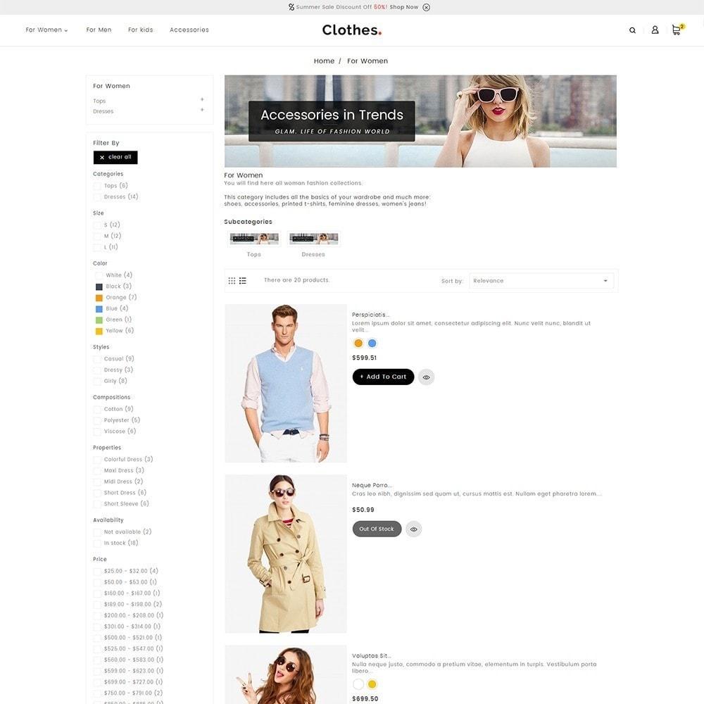 theme - Moda & Calçados - Fashion Clothes - 5