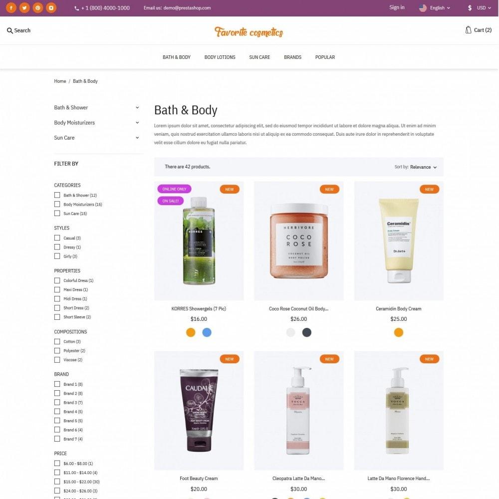 theme - Health & Beauty - Favorite cosmetics - 4