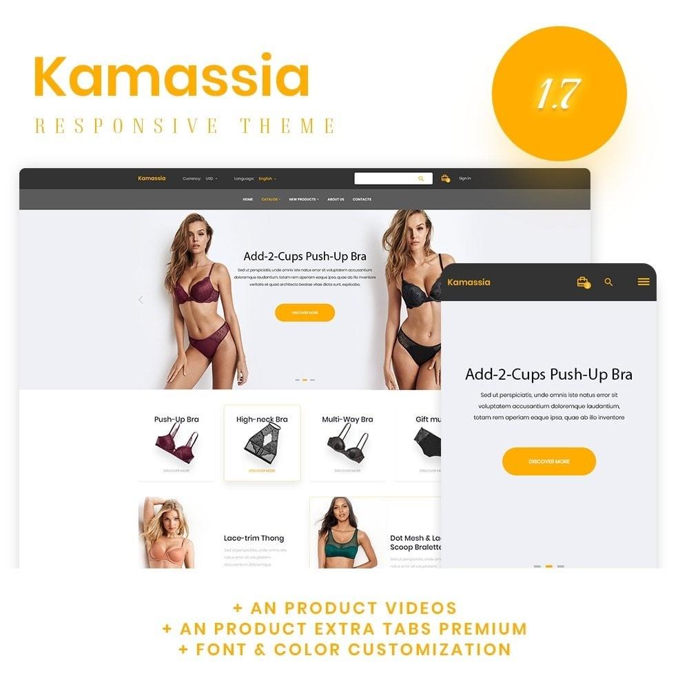 theme - Lingerie & Adult - Kamassia Lingerie Shop - 1