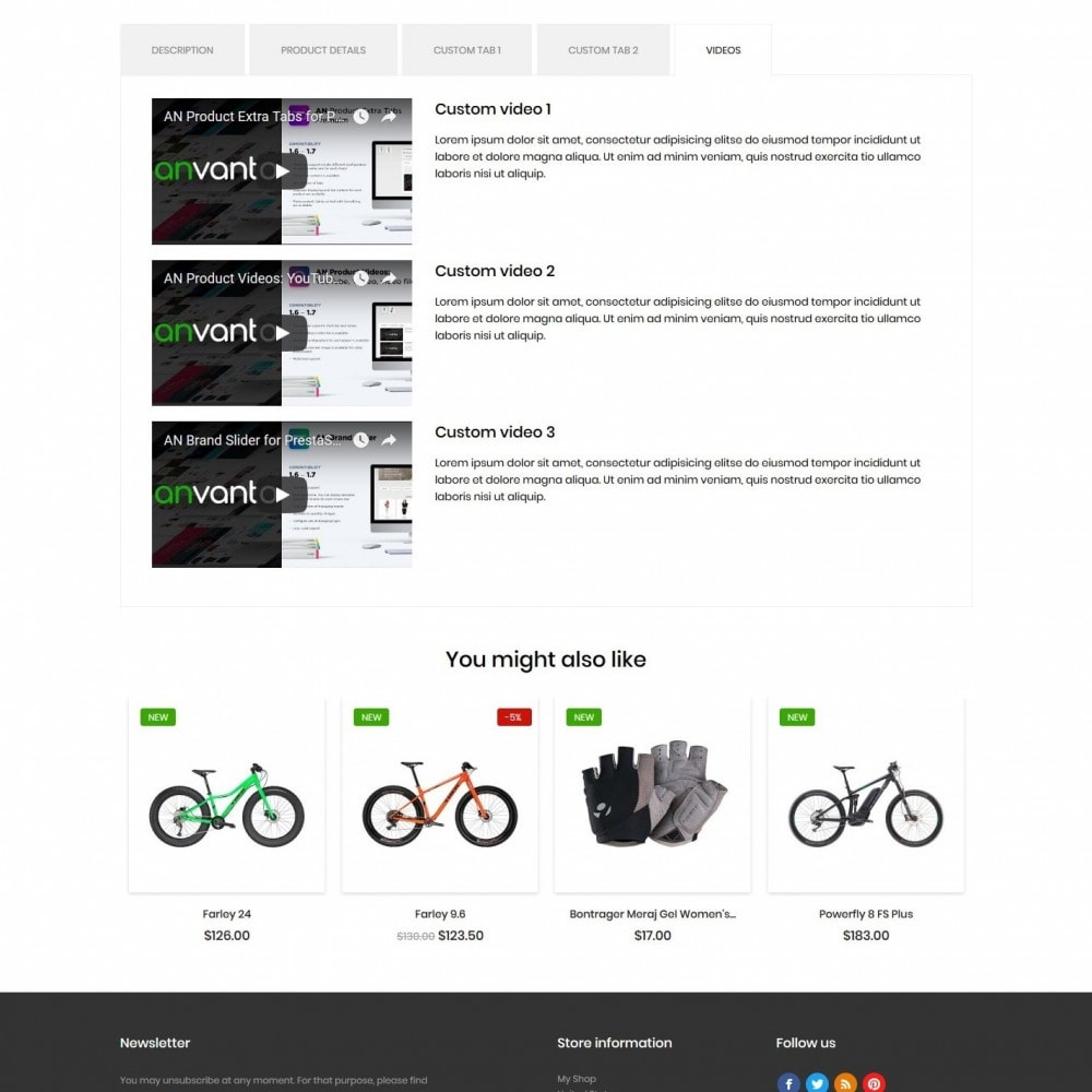 theme - Sports, Activities & Travel - Bicycles shop - 9