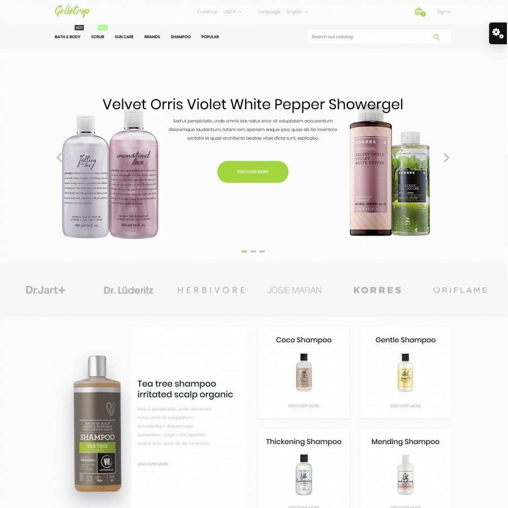 theme - Health & Beauty - Geliotrop Cosmetics - 2
