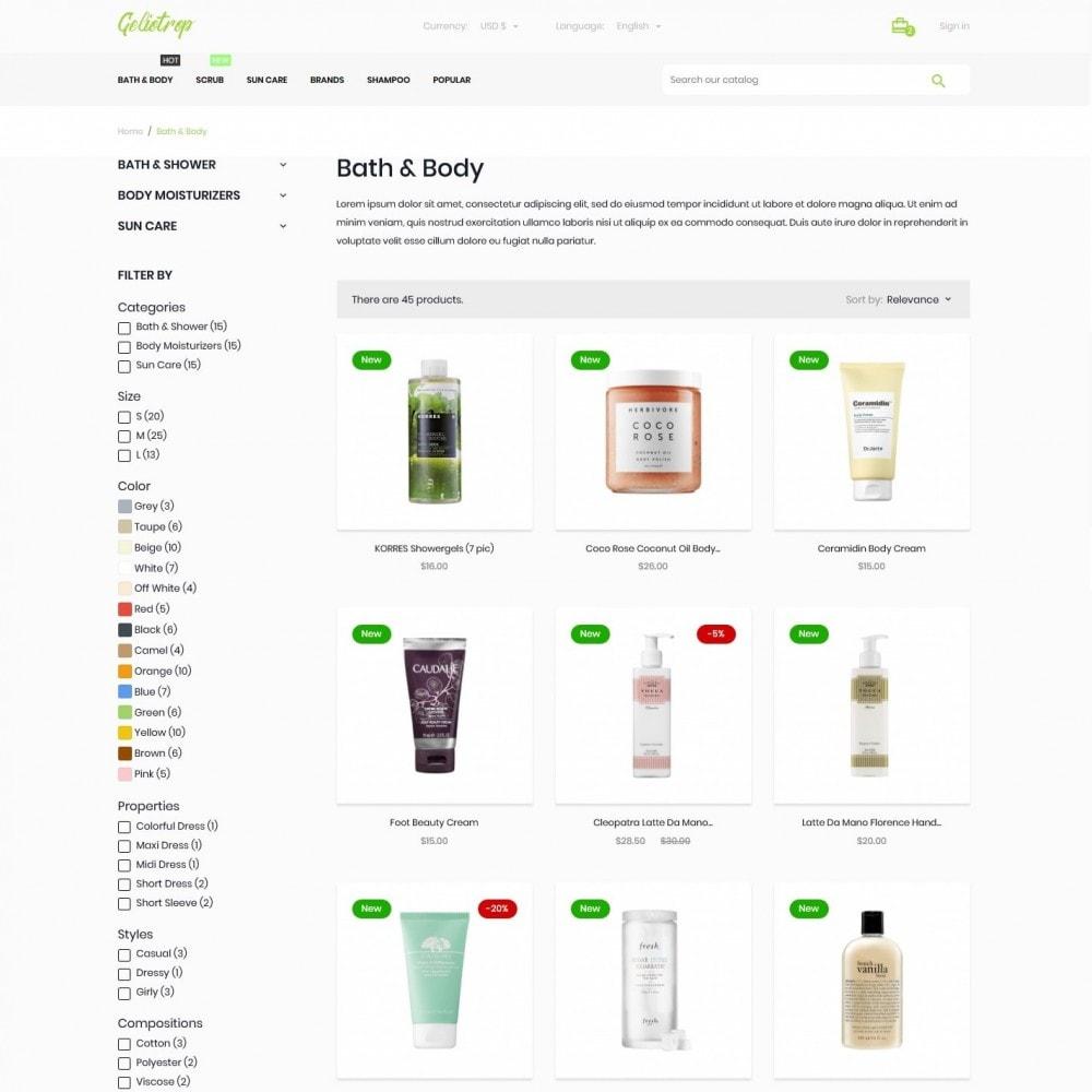 theme - Health & Beauty - Geliotrop Cosmetics - 5