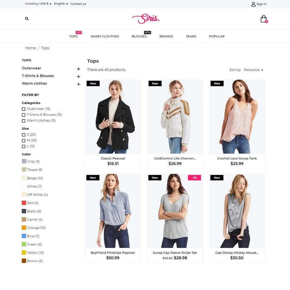 theme - Мода и обувь - Siris Fashion Store - 6