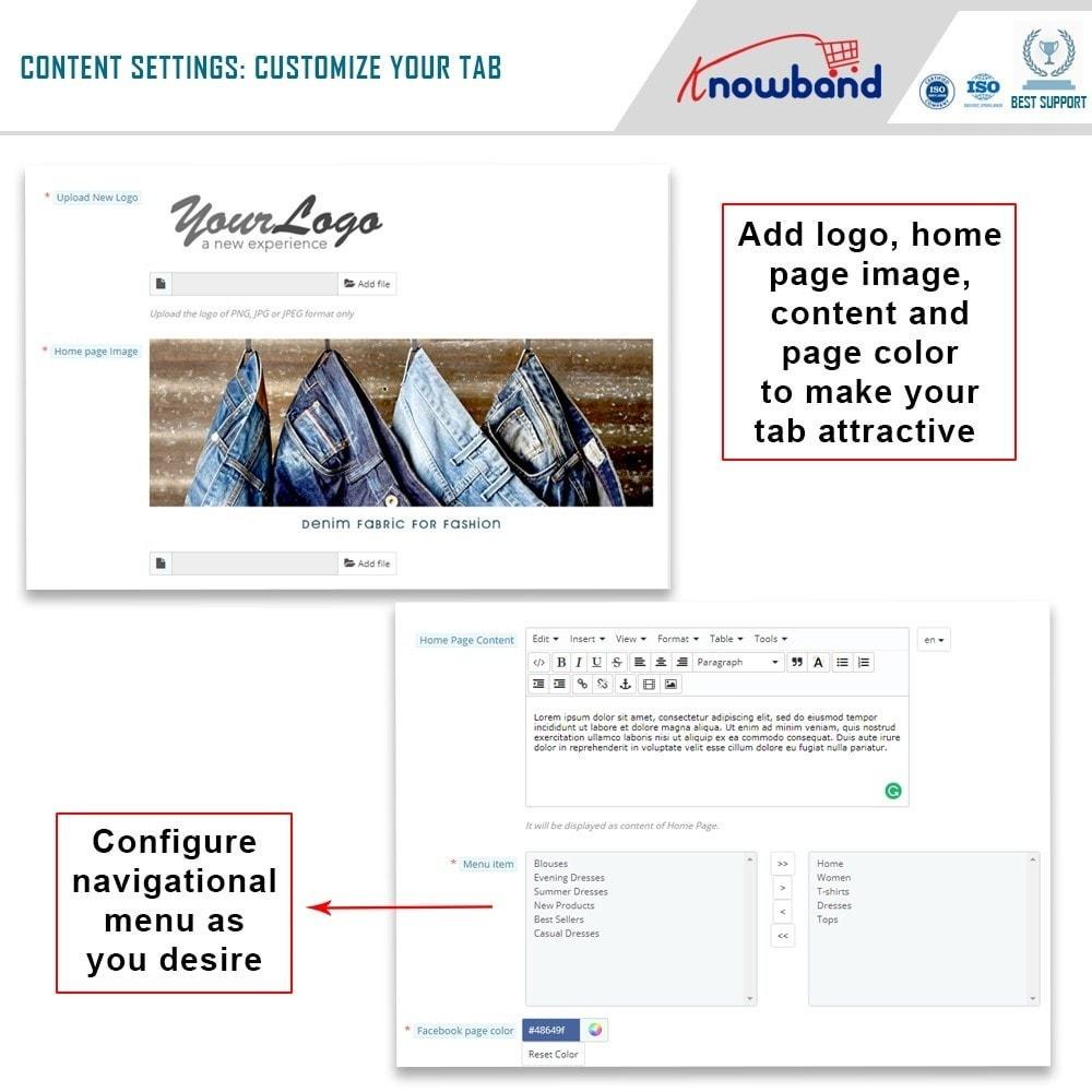 module - Prodotti sui Facebook & Social Network - Knowband - Social Shop Integrator - 6