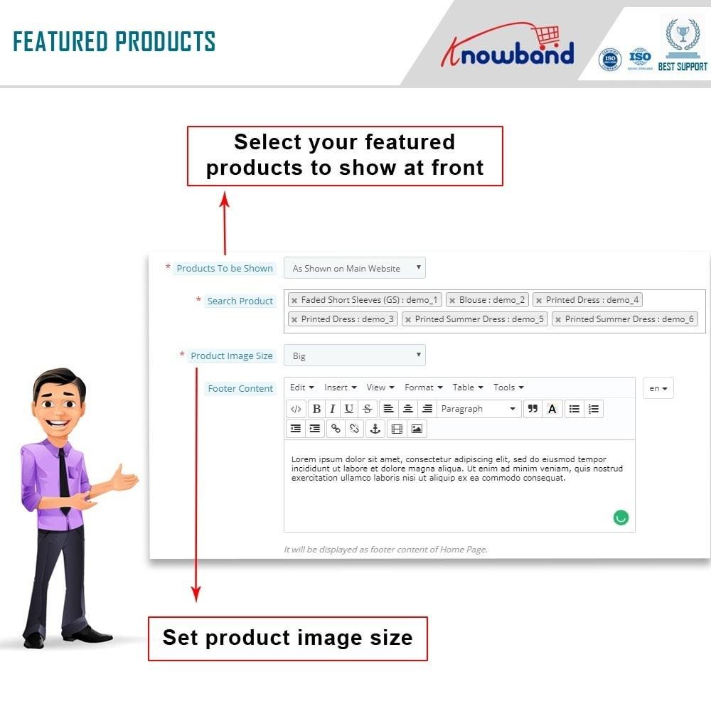 module - Prodotti sui Facebook & Social Network - Knowband - Social Shop Integrator - 8