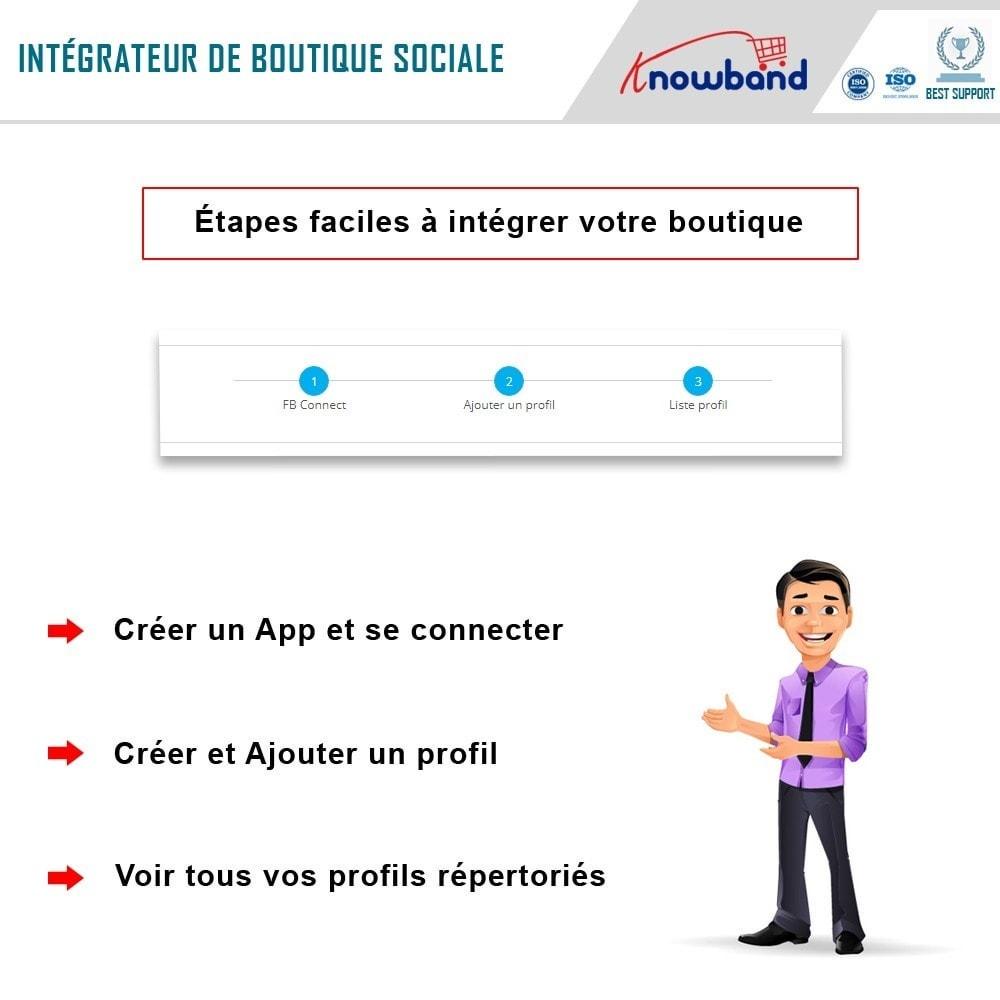 module - Produits sur Facebook & réseaux sociaux - Knowband - Intégrateur de boutique sociale - 4