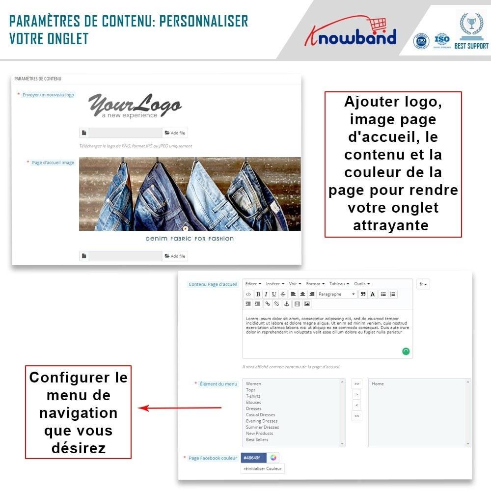module - Produits sur Facebook & réseaux sociaux - Intégrateur de boutique sociale - 6