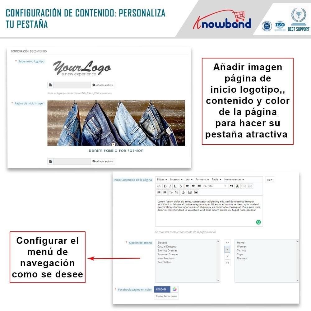 module - Productos en Facebook & redes sociales - Integrador de tienda social - 6