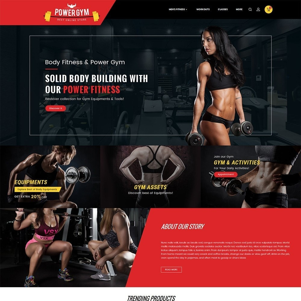 Power Gym & Equipment