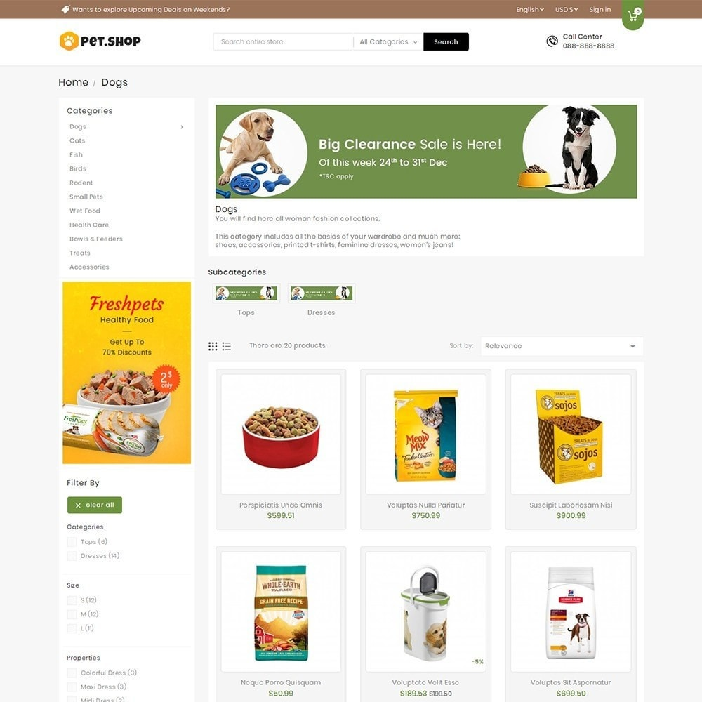 theme - Tier - Mega Pet Food - 3