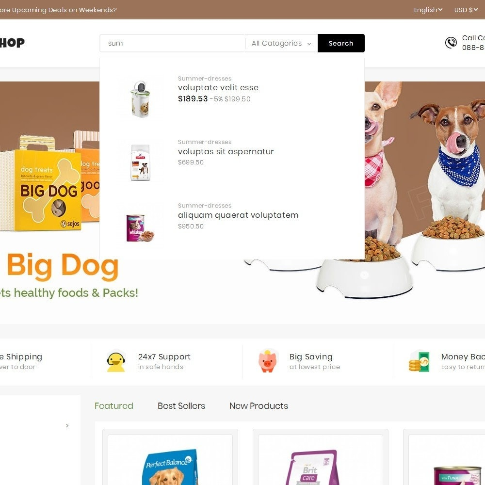 theme - Animais - Mega Pet Food - 10
