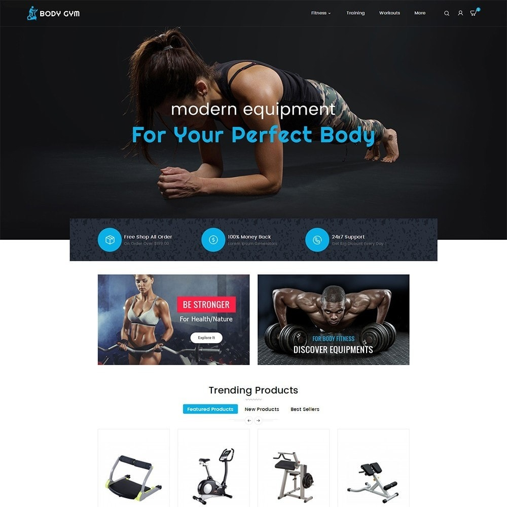 Body Gym & Equipment