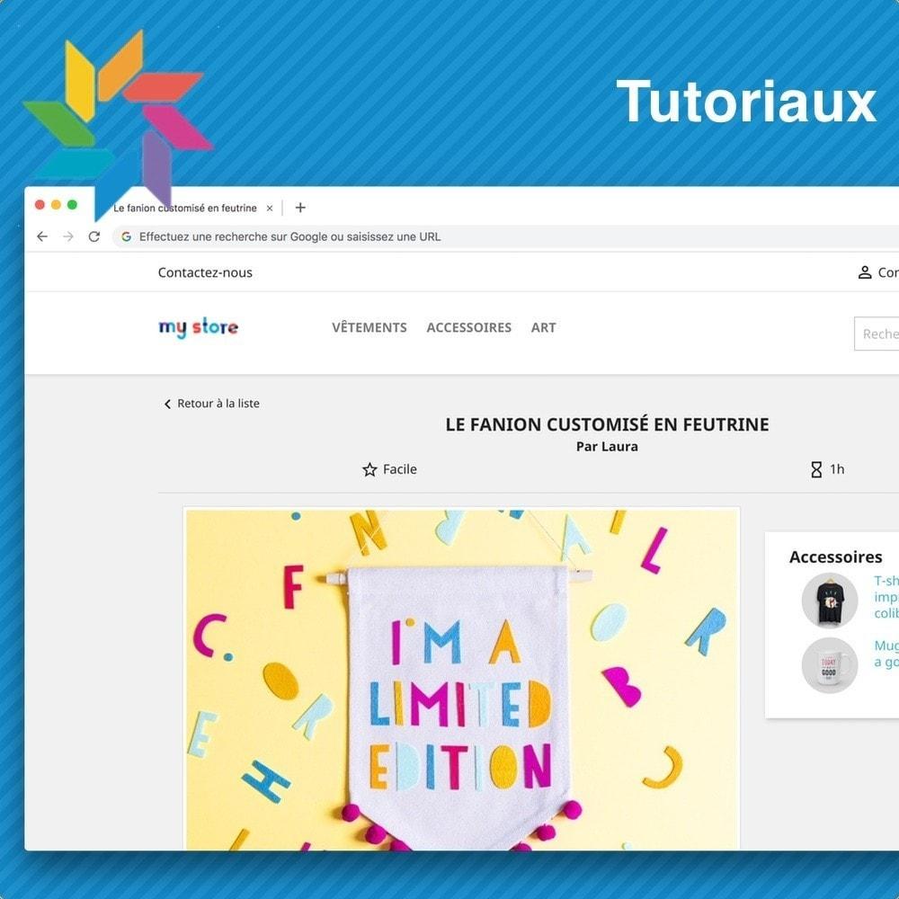 module - Blog, Forum & Actualités - Tutoriels - 1