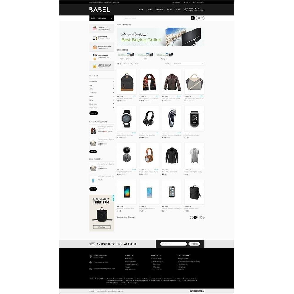 Babel Demo Store