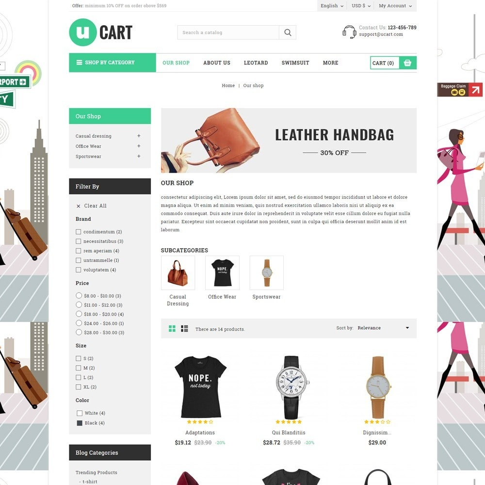 theme - Электроника и компьютеры - Ucart - The Mega Multlistore - 4
