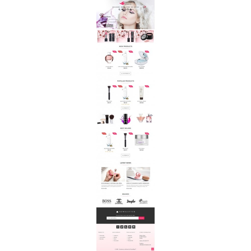 theme - Salute & Bellezza - Cosmetic & Perfume - 4