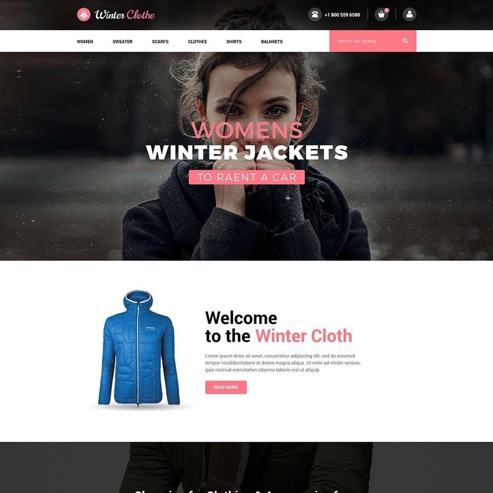 theme - Fashion & Shoes - Winter Cloth Store - 2
