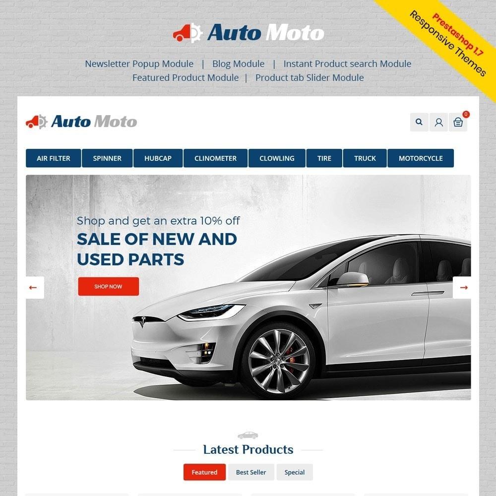 Automoto Auto Store Prestashop Addons